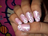 elegant-pink-nail-design-for-girls