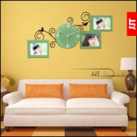 Luminousness-personalized-photo-frame-wall-clock-fashion-brief-clock-modern-mute-clock-table.jpg_220x220
