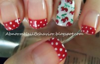 rockabilly-cherry-nail-art